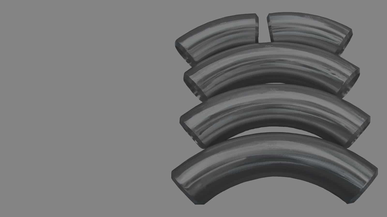 Titanium Bends - Titanium Fittings